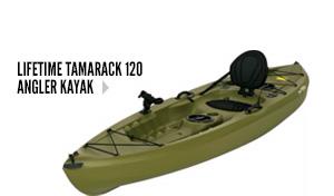 Lifetime Tamarack 120 Angler Kayak
