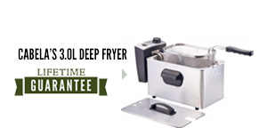 Cabela's 3.0L Deep Fryer