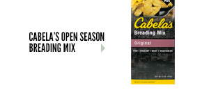 Cabela's Open Season Breading Mix