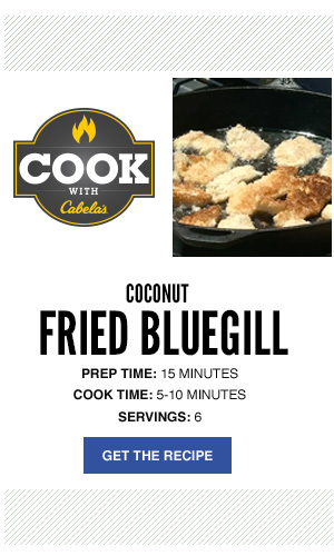 Cook with Cabela's - Coconut Fried Bluegill