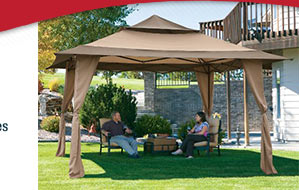 Save on backyard shade