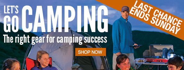 The right gear for camping success