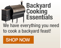 Backyard cooking essentials