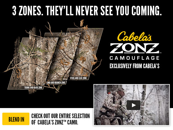 3 Zones. They'll Never See You Coming - Shop Zonz Camo